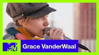 Grace VanderWaal Performs 'Darkness Keeps Chasing Me' (Live Acoustic) | #MTVXGRACE