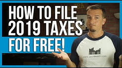 How to file taxes for free in 2020.