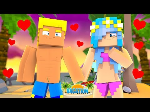Minecraft Vacation #2 : GETTING A BOYFRIEND ON VACATION?! (Little Carly Minecraft).