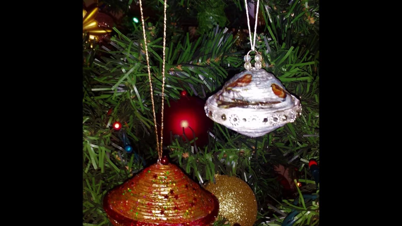 Addobbi Natalizi Di Carta.Come Fare Addobbi Natalizi Con Cannucce Di Carta Diy Christmas Decorations