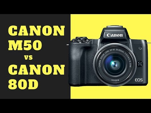 Canon M50 vs Canon 80D - Does the M50 Have BETTER ISO Performance?