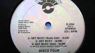Disco Four - Get Busy (Dub) 1986