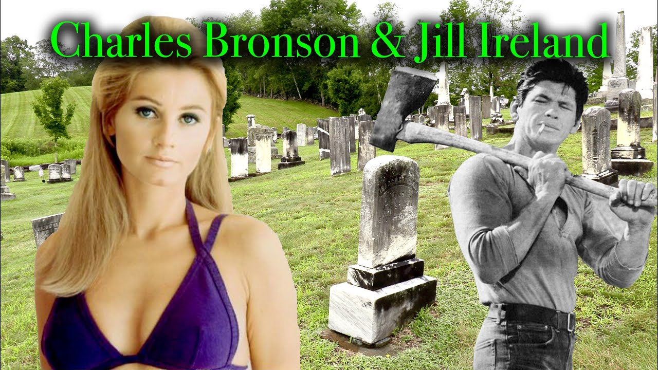 THE GRAVES OF CHARLES BRONSON & JILL IRELAND (Part 3 in Vermont). Brownsville Cemetery, Brownsville.