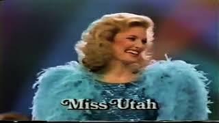 Miss America 1985 | Sharlene Wells 🇺🇸♥👏