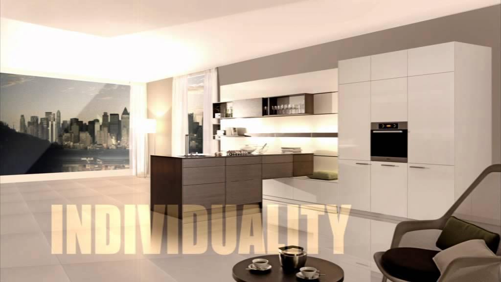 leicht k chen commercial youtube. Black Bedroom Furniture Sets. Home Design Ideas