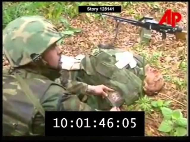 UÇK (Mercenari rus i vrarë në Koshare)