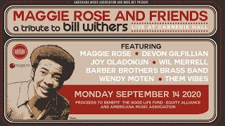 """Maggie Rose  & Friends """"Tribute to Bill Withers"""" presented by Americana Music Association"""