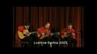 Trio Balkan Strings (1st concert in Loznica, Serbia 2003)