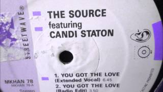The Source feat Candi Staton  - You got the love. 1986 (Soul classic)