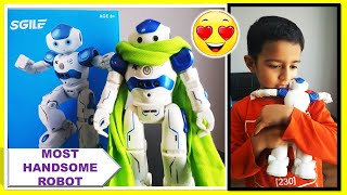 SGILE RC Robot - Gesture Sensing, Singing, Dancing Robot Toy For Kids - CADY WIDA Unboxing & Review