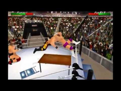 Wrestling Revolution 3D: Corner Moves & Counters