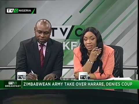 TVC Breakfast 15th November 2017 |  Zimbabwe Army takes over Harare, denies Coup