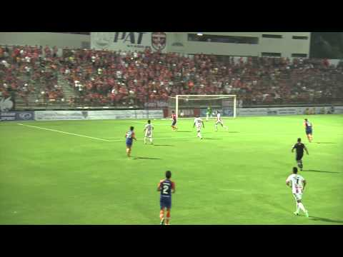 [Highlight Yamaha League 1]07.04.2013 – Thai Port FC. – BBCU FC.