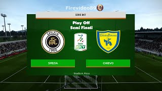Pes 2020 Serie B • Spezia vs Chievo • (Play Off - Semi Finali)