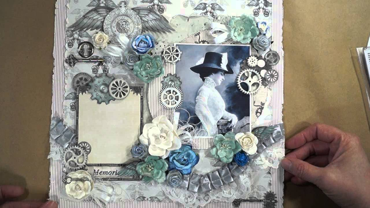 Designs By Shellie S Steampunk Daze Scrapbook Pages J S Hobbies And