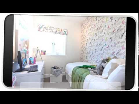 Blue Modern Wallpaper Bedroom