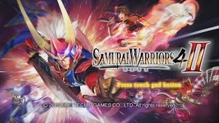 Samurai Warriors 4-II (PS4) Gameplay