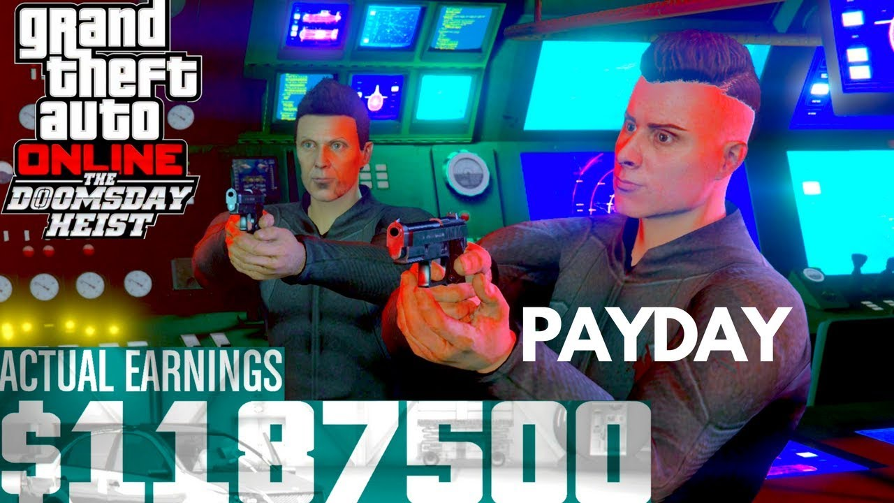 🌱 Doomsday heist money guide | Payouts or How Much Money You Earn