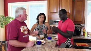 Jen Heasley's Cooking With The Pros With Shawn Springs..drink Time