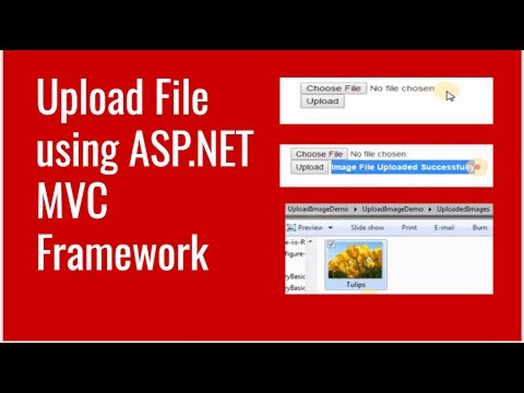 How to Upload File using ASP NET MVC Framework