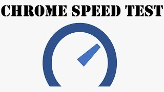 chrome speedtest | vitesse internet comment tester sa bande passante