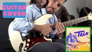 Khalid - Talk  (GUITAR TUTORIAL)
