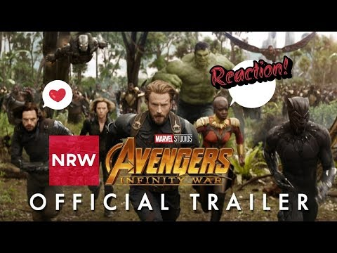 NRW: Marvel Studios' Avengers: Infinity War Trailer Reaction Compilation! #NewReleaseWednesday #NRW