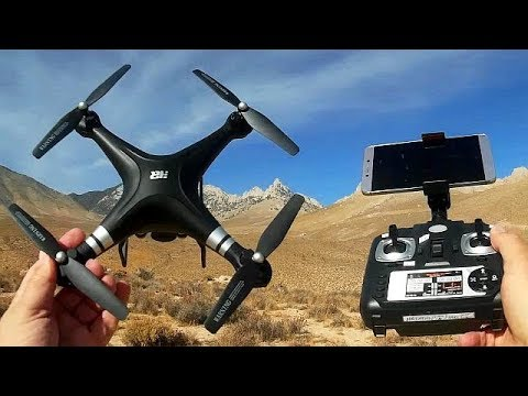 HR SH5HD HD Camera Drone Flight Test Review
