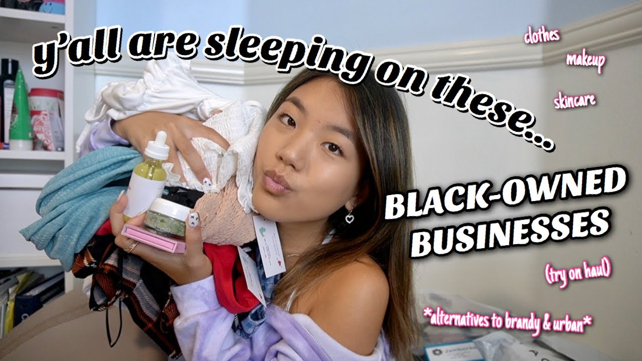 yall are sleeping on these Black-owned businesses (try-on haul)