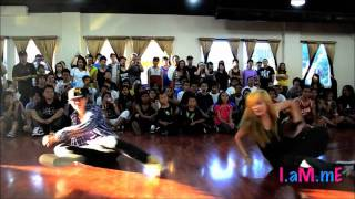 """Di """"MOON"""" Zhang and Olivia """"CHACHI"""" Gonzales Dance Compilation"""