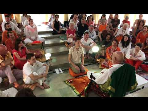 Madhukar - Public Satsang Tiruvannamalai India