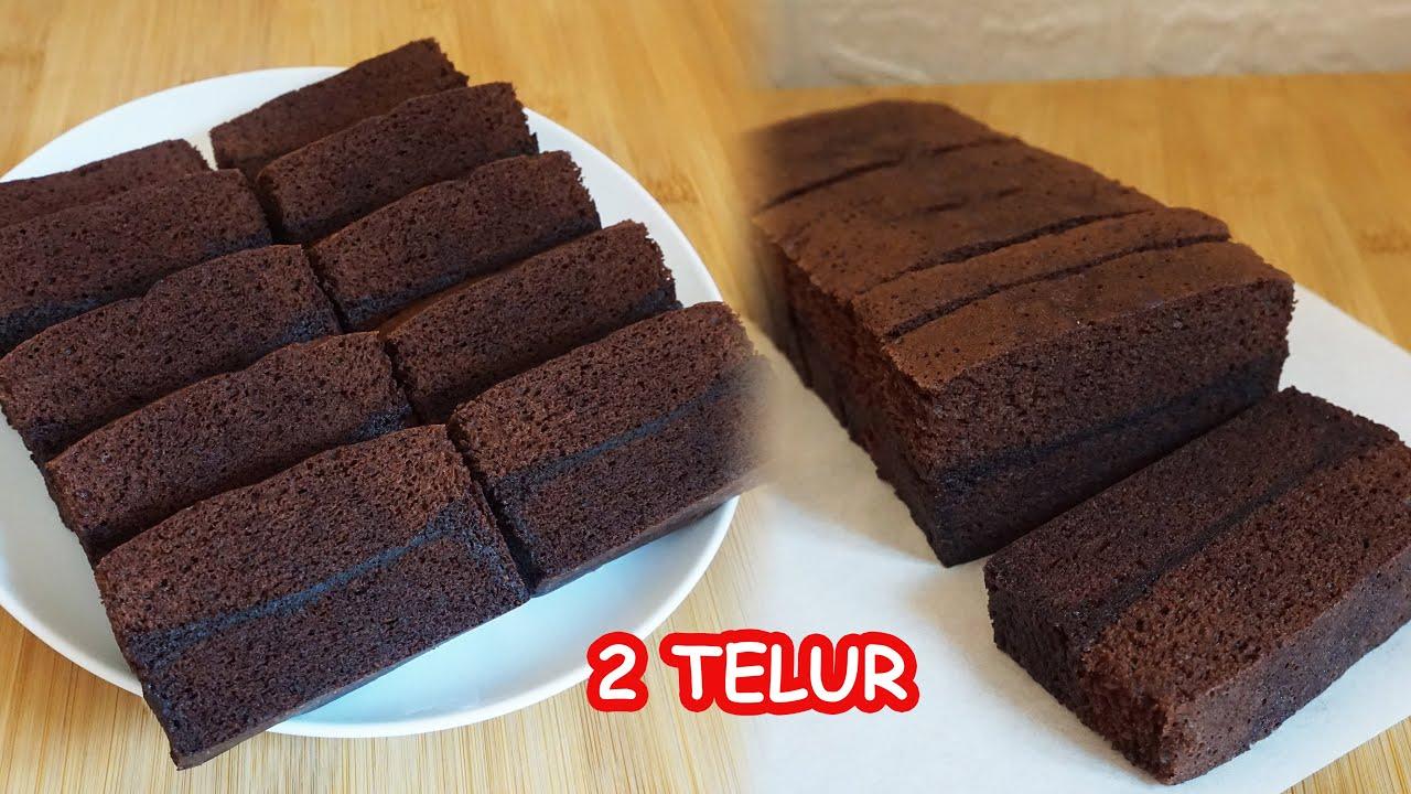 Resep Brownies Kukus Amanda Cuma 2 Telur Youtube