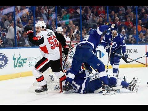 Game 69-Nice-Ottawa Senators vs Tampa Bay Lightning 2017-18