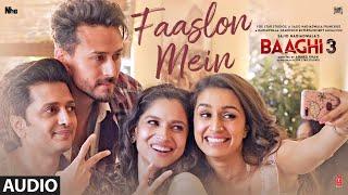 Faaslon Mein  Full Audio | Tiger Shroff  | Shraddha Kapoor | Sachet -Parampara