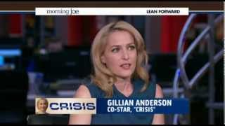 Morning Joe with Gillian Anderson
