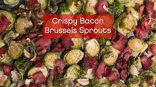 How to Make Crispy Bacon Brussels Sprouts – It's Easy AF!