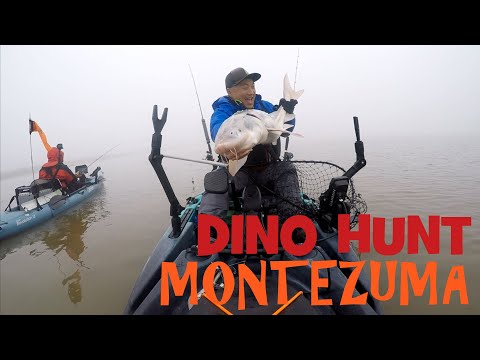 Delta Sturgeon Hunt: Montezuma Slough On My Old Town Topwater 120 PDL