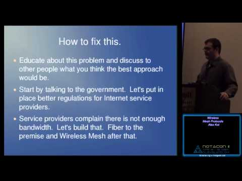 Wireless Mesh Protocols and in a society absent of net neutrality how it will benefit.