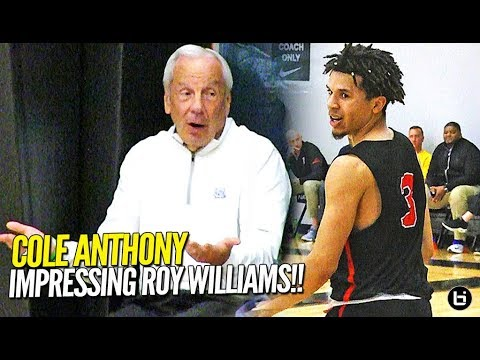 THAT'S A BAD MAN!! Cole Anthony Shows OUT in Front of Roy Williams in EYBL Debut!