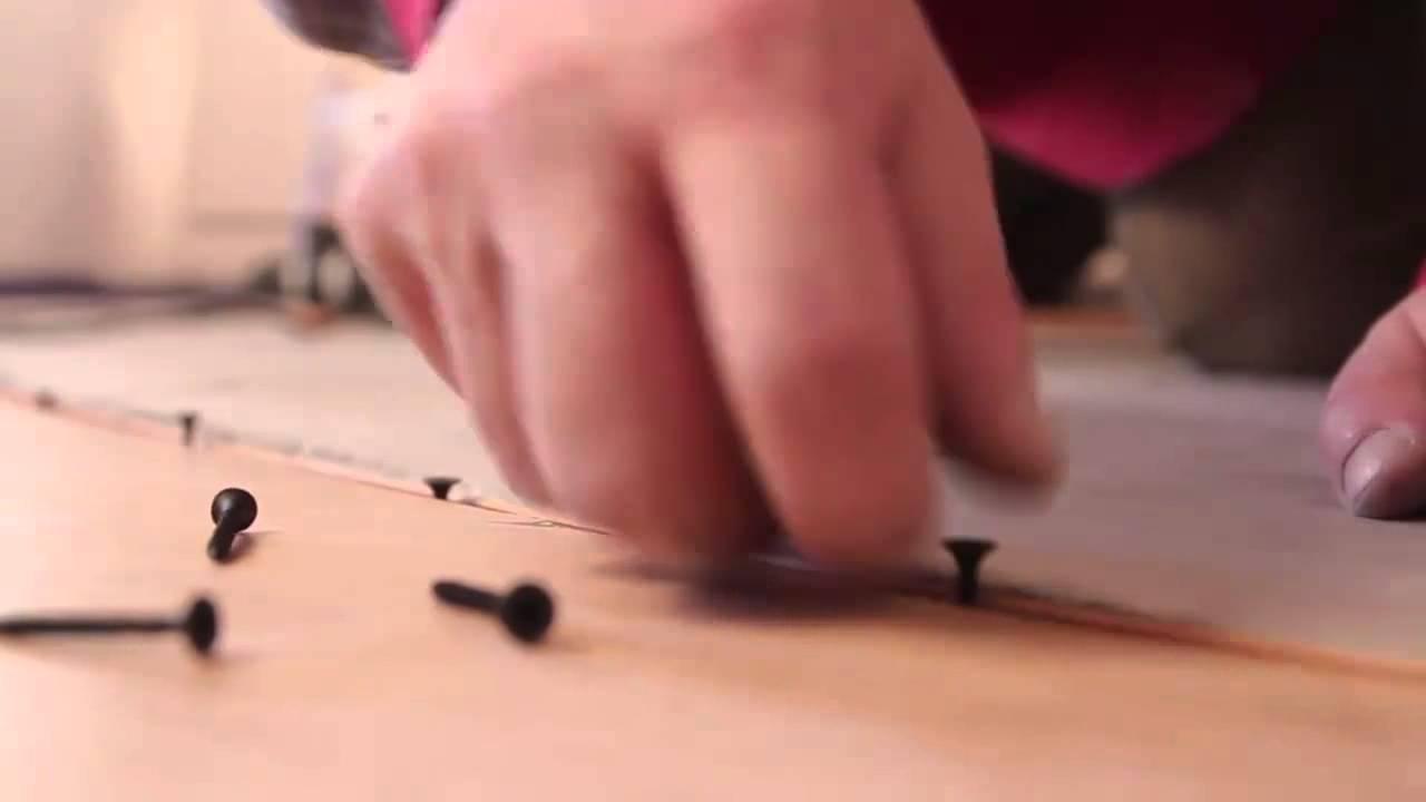 Установка гибкого стыковочного профиля (порога) для пола видео