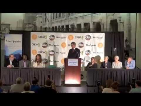 Judges Press Conference: 2015 Miss America Competition