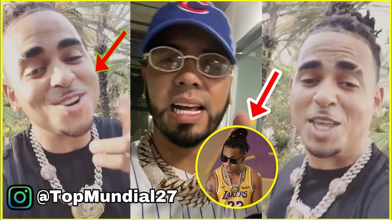 """SE PRENDIÓ: Ozuna Le Tira Anuel En El """"Remix A Correr Los Lakers""""  Nunca Real Siempre Fëk@"""