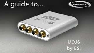 ESI UDJ6 USB Audio Interface with free DJ Software