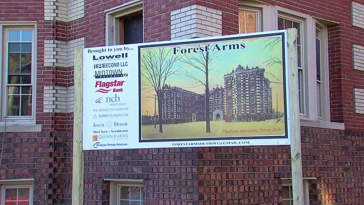 Detroit 2020 Forest Arms Apartments