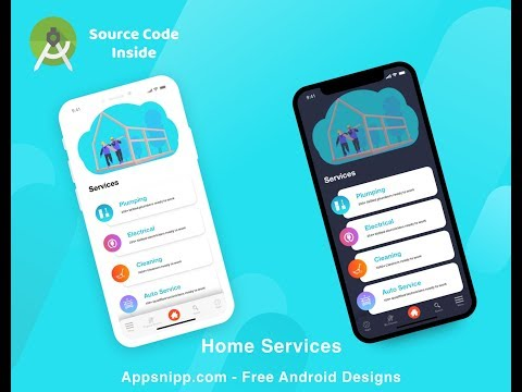 Android Services App With Full Source Code - Appsnipp