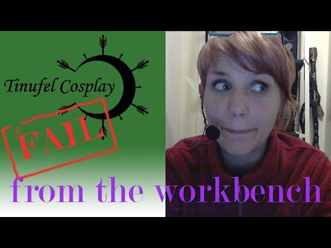 Fail! Meshed Worbla and the Golden Gauntlets for Cosplay