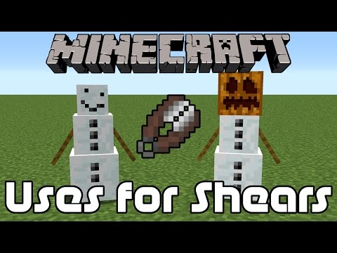 12 Uses For Shears In Minecraft