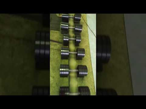 Спорт164.Обзор гантельного ряда от 10 до 50 кг.Одного размера!