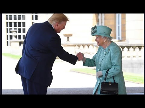President Trump Welcomed By Queen Elizabeth &  Royal Family USA State Visit 2019