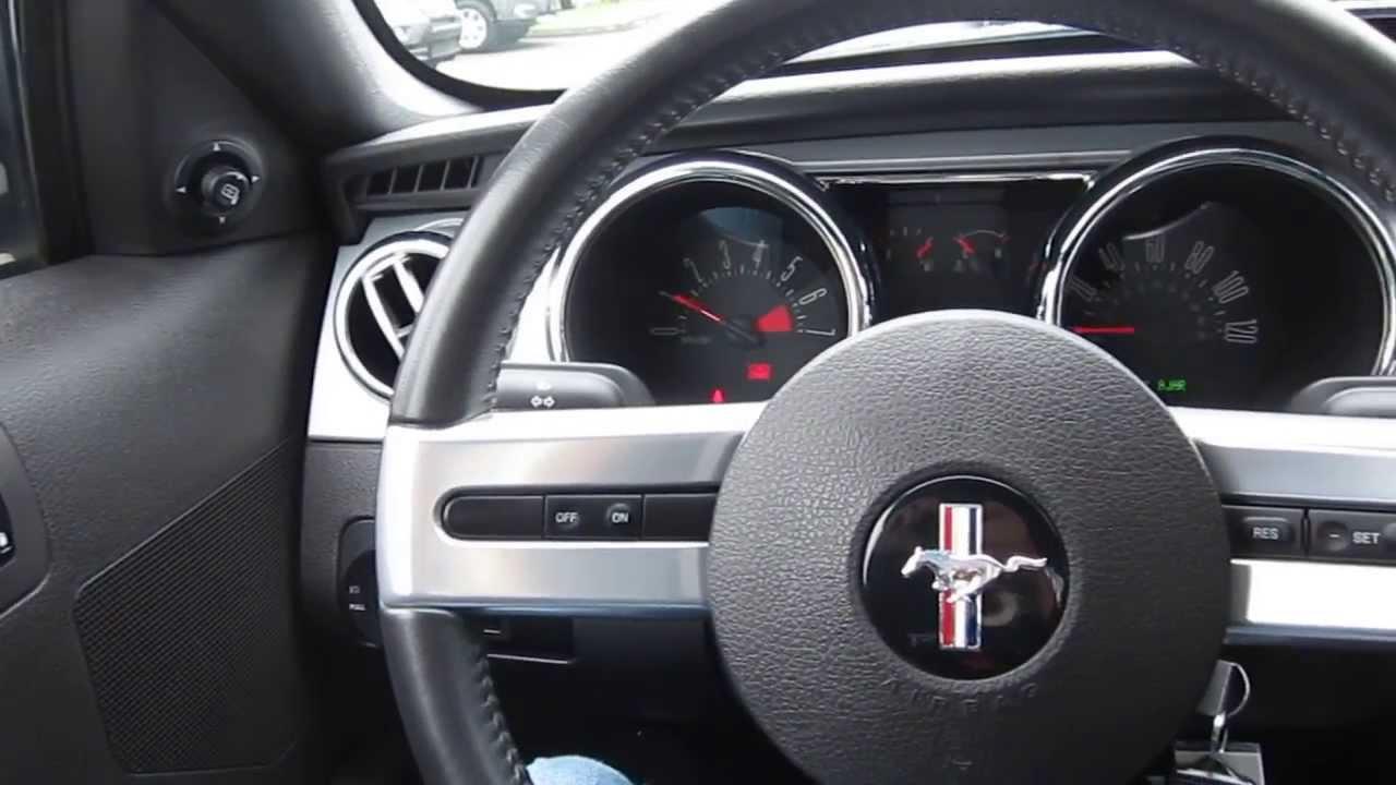 2007 Ford Mustang, Dark Gray   STOCK# 13658A   Interior Photo